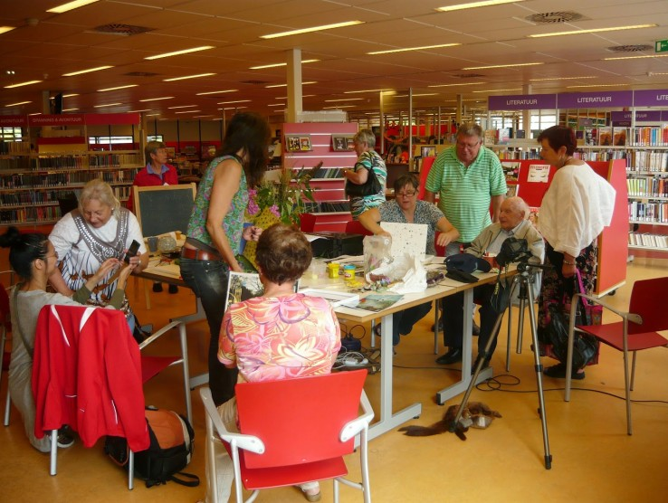 Workshop in de Bibliotheek Smaragdplein